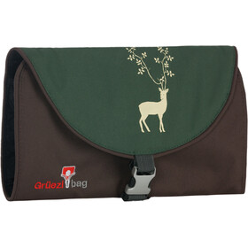 Grüezi-Bag Washbag Organizer zaino Small verde/marrone